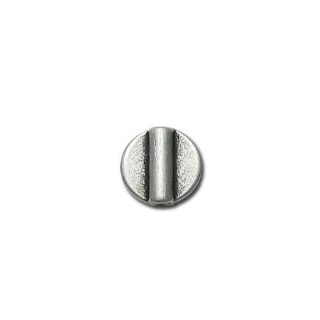 Μεταλλική Ζάμακ Χυτή Χάντρα Δίσκος Επίπεδος 10mm