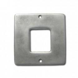 Intercalaire carré en Métal/Zamac, 42mm