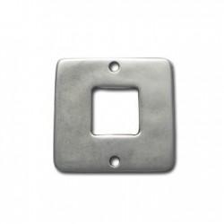 Intercalaire carré en Métal/Zamac, 30mm