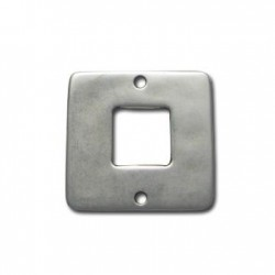 Zamak Connector Square 30mm