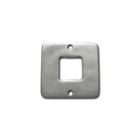 Μεταλλικό Ζάμακ Χυτό Στοιχείο Τετράγωνο Σύνδεσμος 30mm