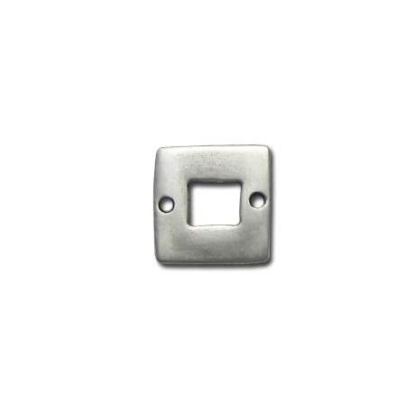 Μεταλλικό Ζάμακ Χυτό Στοιχείο Τετράγωνο Σύνδεσμος 20mm