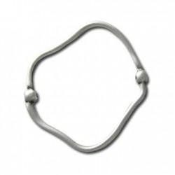 Zamak Slider Irregular Ring 56x50mm