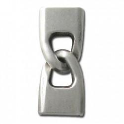 Zamak Clasp Handcuffs Style (Ø 3.3x15mm)