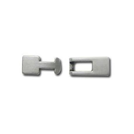 Zamak Clasp Hook Rectangular (Ø 5.2x1.8mm)