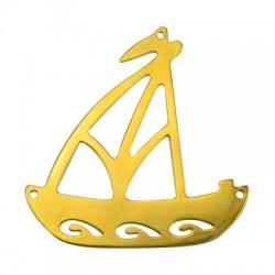 Ciondolo in Zama Barca a Vela 110mm