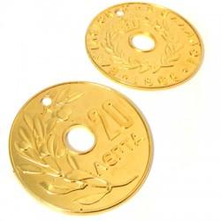 "Zamak Pendant Coin ""20"" 95mm"