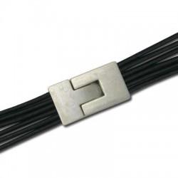 Chiusura ad Incastro in Zama 30x16mm (Ø 2.5x13.6mm)