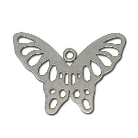 Zamak Pendant Butterfly 41x29mm