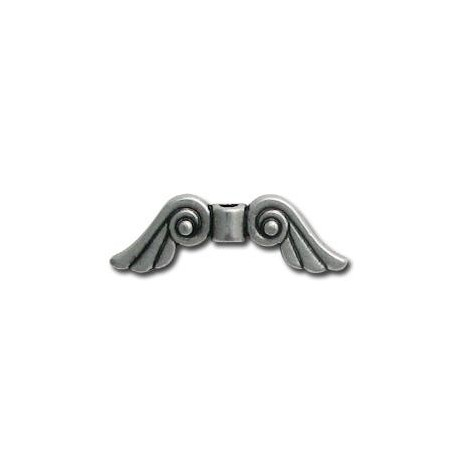 Zamak Slider Angel Wings 29x9mm