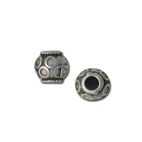 Perlina in Zama Disegnata 6x5.8mm