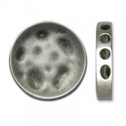 Μεταλλική Ζάμακ Χυτή Χάντρα Στρογγυλή 33.5mm