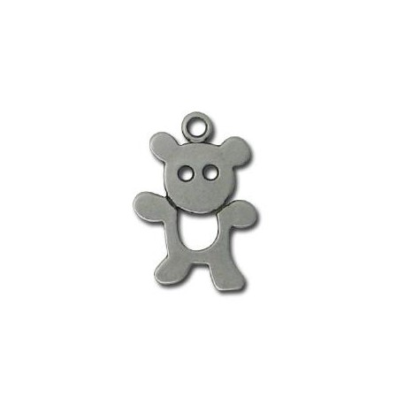 Charm in Zama Orsacchiotto 15x22mm