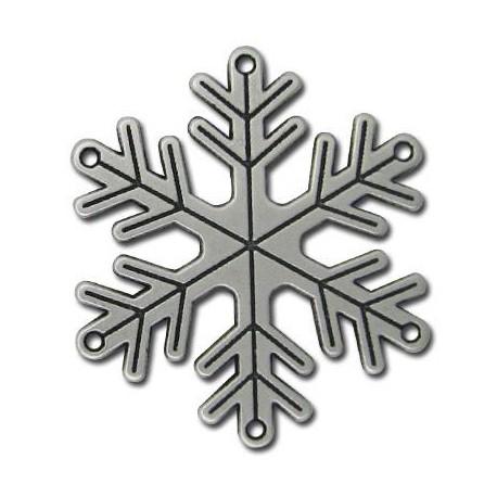 Ciondolo in Zama Fiocco di Neve 55mm