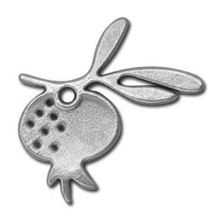 Μεταλλικό Ζάμακ Χυτό Μοτίφ Ρόδι 70mm