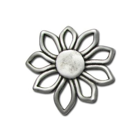 Zamak Pendant Flower 56mm