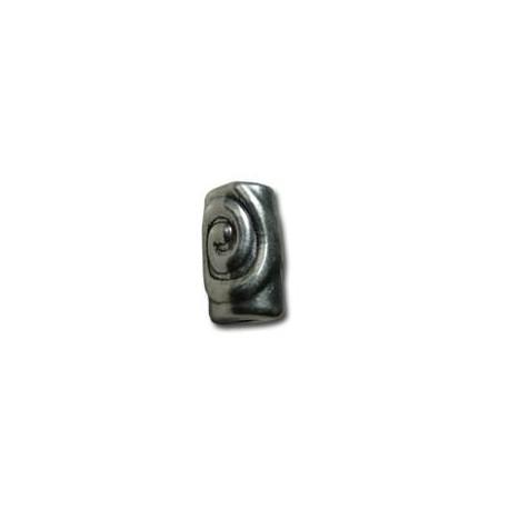 Μεταλλική Ζάμακ Χυτή Χάντρα Σωληνάκι 8.6x14.5mm (Ø3.2mm)