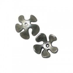 Zamak Bead Cap Flower 20mm