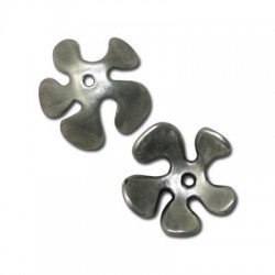 Zamak Bead Cap Flower 25mm