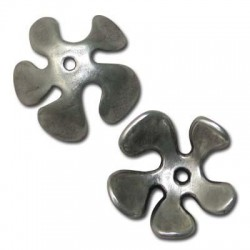 Zamak Bead Cap Flower 35mm