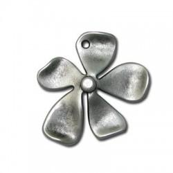 Μεταλλικό Ζάμακ Χυτό Μοτίφ Λουλούδι 32x35mm
