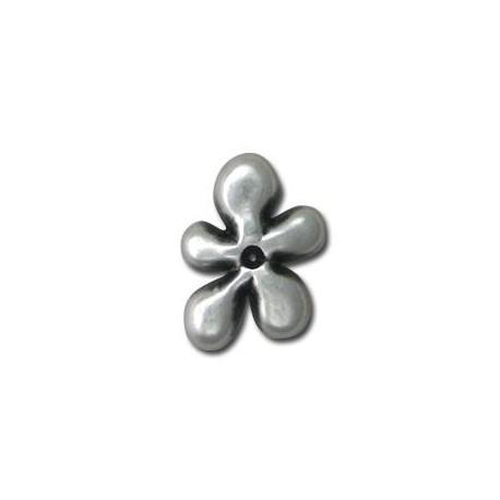 Μεταλλικό Ζάμακ Χυτό Μοτίφ Λουλούδι 19x26.5mm