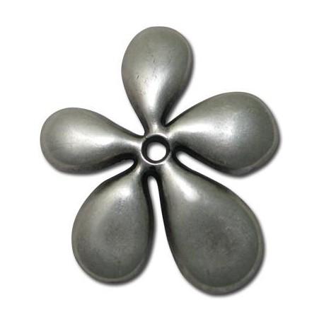 Μεταλλικό Ζάμακ Χυτό Μοτίφ Λουλούδι 60x57mm
