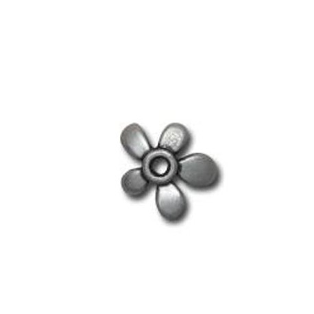 Zamak Bead Cap Flower 15mm