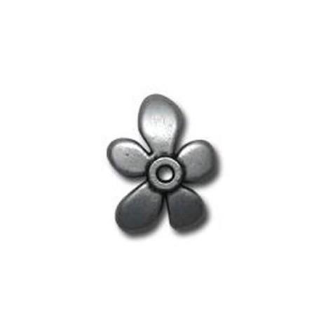 Zamak Bead Cap Flower 21mm