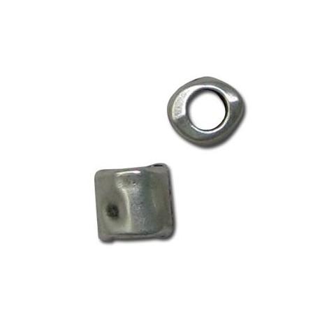 Μεταλλική Ζάμακ Χυτή Χάντρα Σωλήνας 7mm (Ø4mm)
