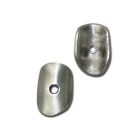Disco in Zama Irregolare Curvato 11x16mm