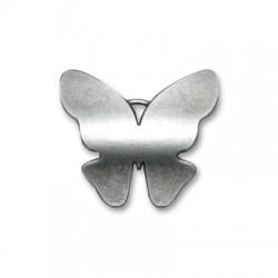 Zamak Pendant Butterfly 40x35mm