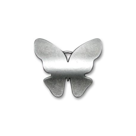 Μεταλλικό Ζάμακ Χυτό Μοτίφ Πεταλούδα 40x35mm