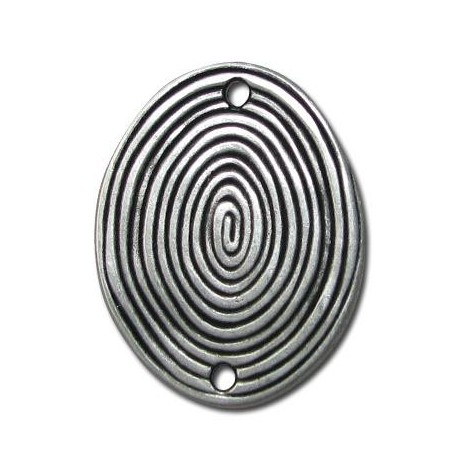 Zamak Connector Oval Coil 35x43mm