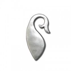 Μεταλλικό Ζάμακ Χυτό Μοτίφ Φάλαινα 38x20mm