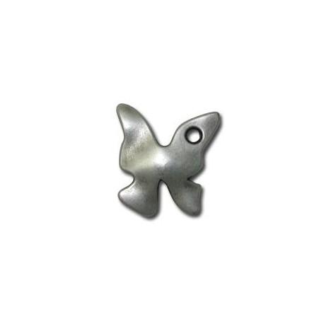 Μεταλλικό Ζάμακ Χυτό Μοτίφ Πεταλούδα 17x20mm