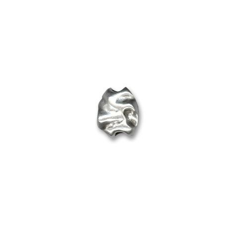 Perlina in Zama Irregolare Schiacciata 11x13mm (Ø 3mm)