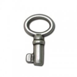 Zamak Pendant Key 12x22mm