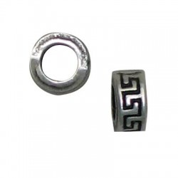 Zamak Washer Bead 4x9mm (Ø 4.8mm)