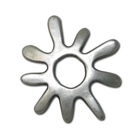 Μεταλλικό Ζάμακ Χυτό Μοτίφ  Ήλιος 37mm