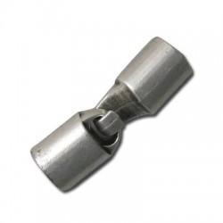 Μεταλλικό Ζάμακ Χυτό Κούμπωμα Γάντζος (Ø 7x9mm)