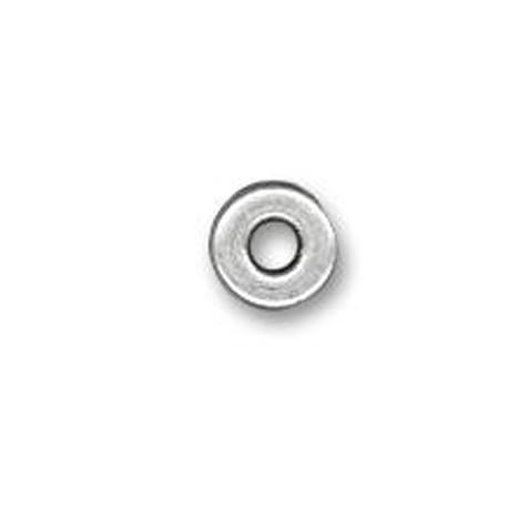 Rondelle en Métal/Zamac, 9x1.5mm
