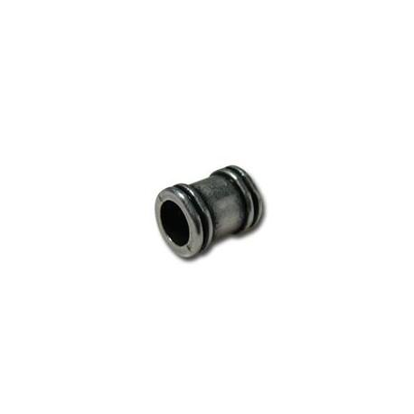 Μεταλλική Ζάμακ Χυτή Χάντρα Σωλήνας 7x9mm (Ø5mm)