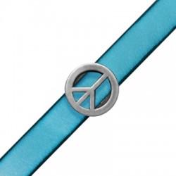 Passant Symbole de la paix en Métal/Zamac, 18.5mm