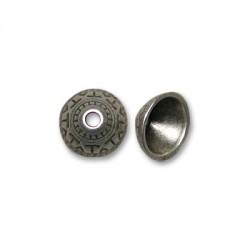 Coppetta Copriperla in Zama 11mm (Ø 2.5mm)