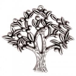 Μεταλλικό Ζάμακ Χυτό Μοτίφ Δέντρο των Ευχών 52x46mm