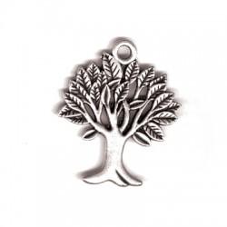 Μεταλλικό Ζάμακ Χυτό Μοτίφ Δέντρο των Ευχών 29x23mm