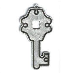 Μεταλλικό Ζάμακ Χυτό Μοτίφ Κλειδί 43x85mm