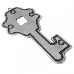 Μεταλλικό Ζάμακ Χυτό Μοτίφ Κλειδί 60x120mm