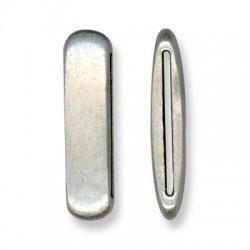 Μεταλλικό Ζάμακ Χυτό Στοιχείο Περαστό 47x13mm (Ø40.2x2.2mm)